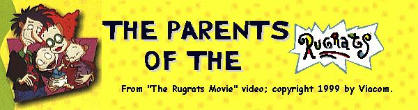 The parents of the Rugrats