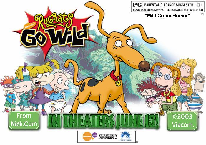 """Rugrats Go Wild"" -- Rated ""PG"""